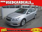 2012 Chevrolet Cruze Lt Turbo Fully Equipped Cruise in Saint John, New Brunswick