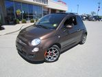 2012 Fiat 500 Sport  HATCHBACK SUNROOF in Perth, Ontario
