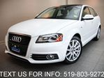 2011 Audi A3 S-LINE 2.0L PREMIUM PLUS! LEATHER SUNROOF! in Guelph, Ontario