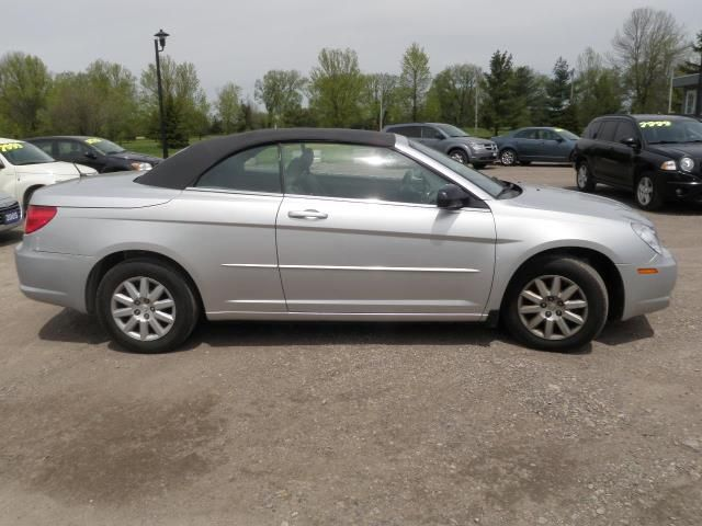 2008 Chrysler Sebring Lx Convertible Stratford Ontario Used Car For Sale