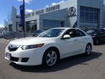 2009 Acura TSX 6spd  MT (white color)  w/ Low km in Thornhill, Ontario