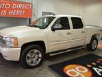 2011 Chevrolet Silverado 1500 LTZ White w/Black leather in Leduc, Alberta