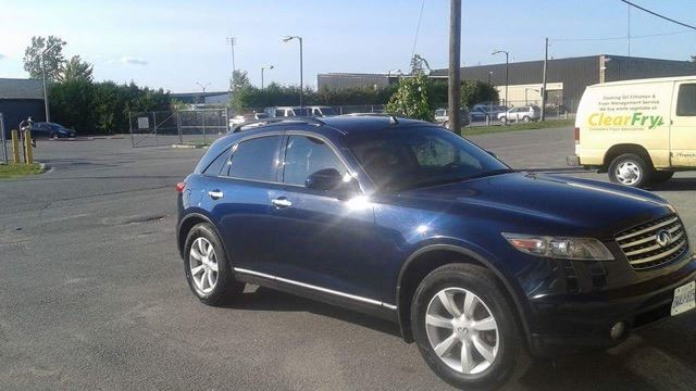 2005 infiniti fx35 blue central city auto sales. Black Bedroom Furniture Sets. Home Design Ideas