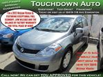 2012 Nissan Versa SL / Exceptional Fuel Economy / Low Kms / Balance in Edmonton, Alberta