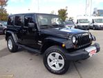 2012 Jeep Wrangler Unlimited *SAHARA* | MATCHING BLACK HARD TOP | OFF ROAD in Mississauga, Ontario