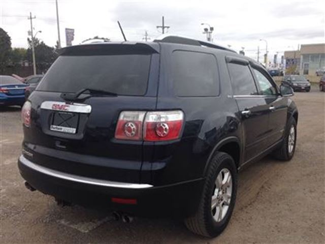 used 2007 gmc acadia slt1 in whitby ontario 879495. Black Bedroom Furniture Sets. Home Design Ideas
