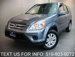 2006 Honda CR-V EX-L AWD LEATHER SUNROOF! ALLOYS! CERTIFIED! in Guelph, Ontario