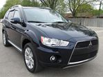 2010 Mitsubishi Outlander ..GT..LEATHER..MOONROOF in Milton, Ontario