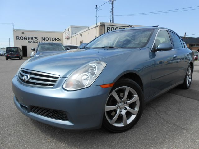 2005 infiniti g35 x awd leather sunroof oakville. Black Bedroom Furniture Sets. Home Design Ideas