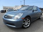 2005 Infiniti G35 x AWD - LEATHER - SUNROOF in Oakville, Ontario