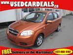 2008 Chevrolet Aveo 1.6L 4 CYL Auto Air in Saint John, New Brunswick