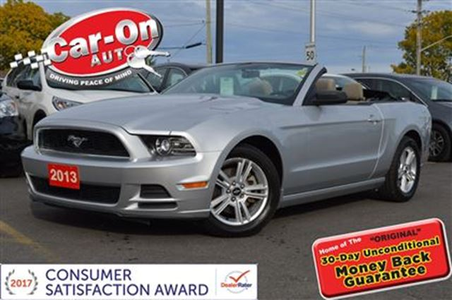 2013 Ford Mustang CONVERTIBLE in Ottawa, Ontario