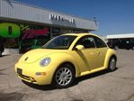 2005 Volkswagen New Beetle GLS AUTO LEATHER NOON ROOF in Markham, Ontario