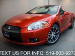 2011 Mitsubishi Eclipse GS SPYDER CONVERTIBLE! AUTOMATIC! LOADED CERTIFIED in Guelph, Ontario