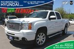 2011 GMC Sierra 1500 Denali Navigation DVD 4x4 White in Richmond Hill, Ontario
