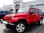2010 Jeep Wrangler Unlimited Sahara!AUTO!HARD TOP!TOW PKG!AUTO!PWR OPTS!MUST SE in Thornhill, Ontario