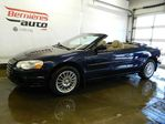 2004 Chrysler Sebring Convertible in Saint-Nicolas, Quebec