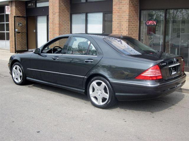 2004 mercedes benz s class s430 4 matic amg package for Mercedes benz s class 2004