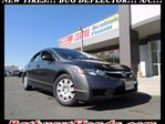 2009 Honda Civic DX-A!!! MANUAL 5 SPEED! HOOD DEFLECTOR! in Bathurst, New Brunswick