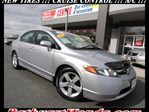 2008 Honda Civic LX! HONDA CERTIFIED! CRUISE CONTROL! POWER WINDOWS! POWER LOCKS! in Bathurst, New Brunswick