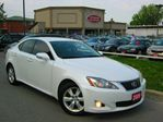 2009 Lexus IS 250 RARE 6 SPEED  PEARL WHITE in Scarborough, Ontario