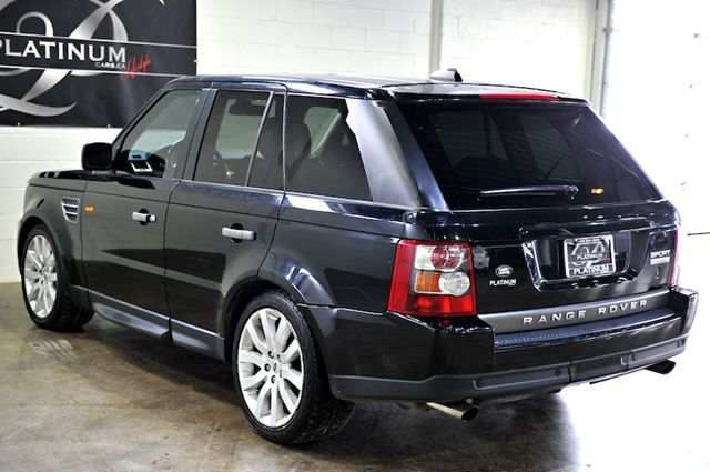 2007 land rover range rover sport sport supercharged rear entertainment north york ontario. Black Bedroom Furniture Sets. Home Design Ideas