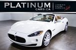 2010 Maserati GranTurismo 4.7 S / CONVERTIBLE/ PADDLE SHIFTS in North York, Ontario