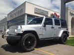 2011 Jeep Wrangler Unlimited RARE FIND..BLACK WHEELS/ALTITUDE PACKAGE// in Burlington, Ontario