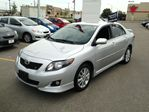 2010 Toyota Corolla S     Sport model    1-owner   low kms in Scarborough, Ontario