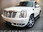 2008 Cadillac Escalade AWD NAVIGATION! TV/DVD! SUNROOF! 22'' ALLOYS! in Guelph, Ontario