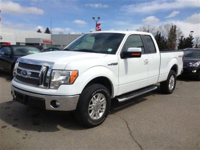 2011 ford f 150 lariat supercab calgary alberta used car for sale. Black Bedroom Furniture Sets. Home Design Ideas
