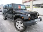 2012 Jeep Wrangler Unlimited SAHARA, 6 SPD, ONLY 27K, MINT! in Stittsville, Ontario