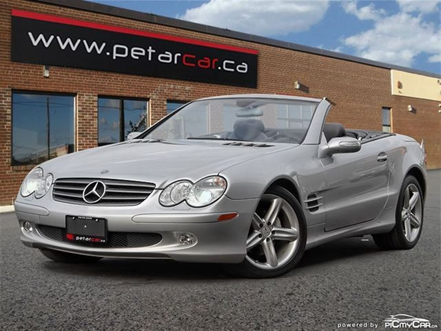 Vehicle details for 2006 mercedes benz sl500