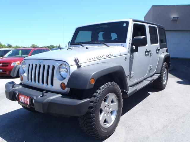2011 jeep wrangler unlimited rubicon lindsay ontario used car for sale. Black Bedroom Furniture Sets. Home Design Ideas