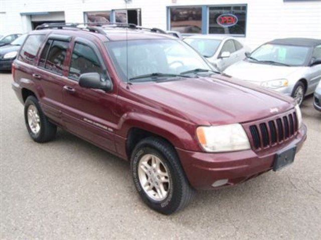 1999 jeep grand cherokee limited calgary alberta used car for sale. Black Bedroom Furniture Sets. Home Design Ideas