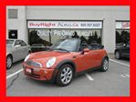 2006 MINI Cooper CONVERTABLE*ONLY 64KMS*AUTO in Vaughan, Ontario