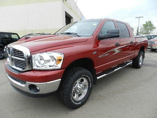 2007 dodge ram 1500 4wd megacab slt edmonton alberta used car for sale. Black Bedroom Furniture Sets. Home Design Ideas