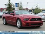 2013 Ford Mustang V6 Prem w/ Pony Pkg and Leather in Calgary, Alberta