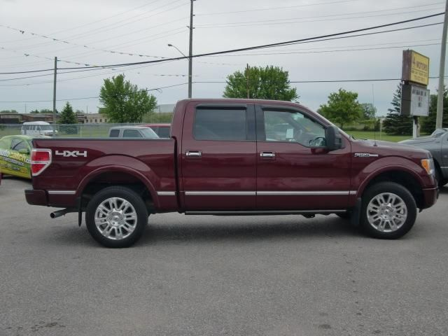 2009 ford f 150 platinum orillia ontario used car for sale. Black Bedroom Furniture Sets. Home Design Ideas