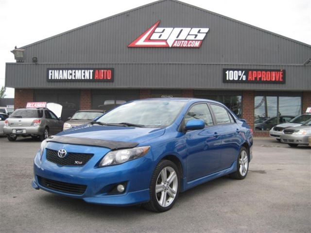 Used 2009 toyota corolla xrs financement maison for Automobile financement maison