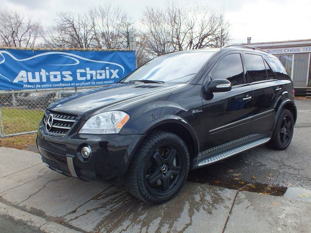 2007 mercedes benz m class ml63 amg longueuil quebec for 2007 mercedes benz ml350 for sale