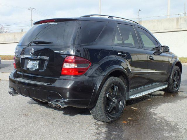 Used 2007 mercedes benz m class ml63 amg longueuil for Mercedes benz ml 350 2007