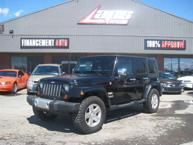 2009 jeep wrangler unlimited sahara financement maison for Auto financement maison