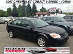 2007 Chevrolet Cobalt A/C - 5 Speed - Only 109KM - AUX Input - Accident Free in London, Ontario