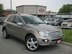 2007 Mercedes-Benz M-Class ML320 CDI NAVIGATION SPORT PKG DVD in Scarborough, Ontario