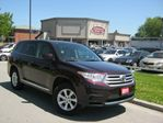 2011 Toyota Highlander 4WD 7PSGR  ONE OWNER  NO ACCIDENT in Scarborough, Ontario