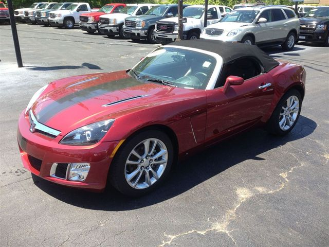 2009 saturn sky red line automatic related infomation specifications weili automotive network. Black Bedroom Furniture Sets. Home Design Ideas