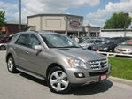 2009 Mercedes-Benz M-Class ML320 BLUETEC DIESEL NAVIGATION SPORT PKG in Scarborough, Ontario