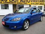 2005 Mazda MAZDA3 $ 6 9 9 5 / Sport GS / P. ROOF / LOADED / ALLOYS / in Scarborough, Ontario