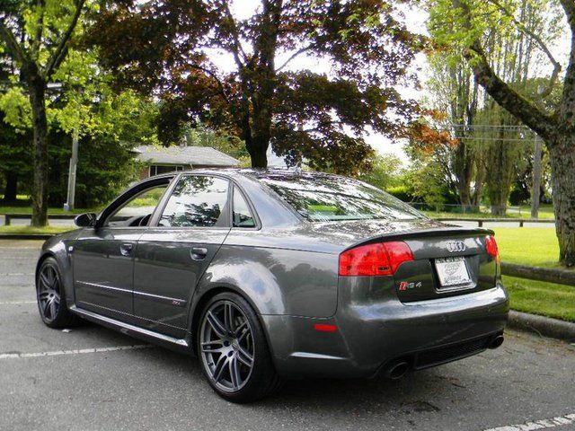 2008 audi rs4 4 2l surrey british columbia used car for sale. Black Bedroom Furniture Sets. Home Design Ideas